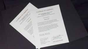 ABIP Certificates