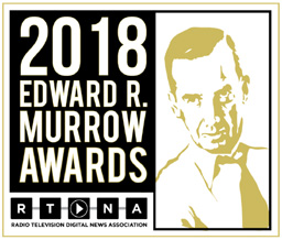 2018 Edward R. Murrow Awards