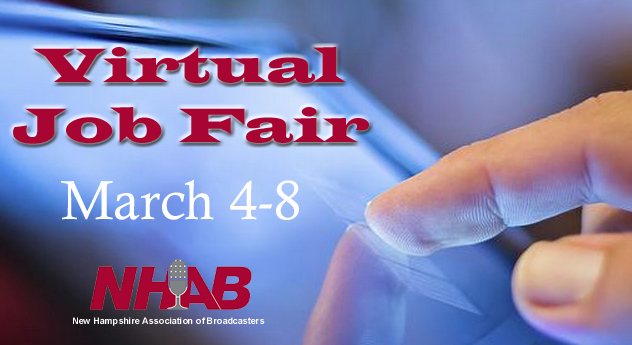 New Hampshire Association of Broadcasters - Virtual Job Fairs